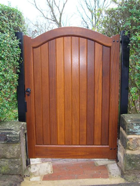 17 best ideas about wooden gates on front