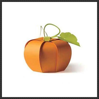 Papercraft Pumpkin - vegetable papercraft pumpkin free template