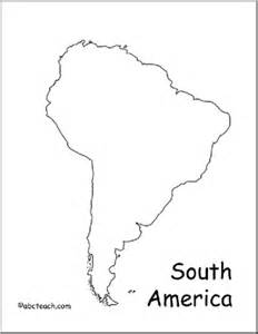 outline map of south america best photos of outline map of south america south