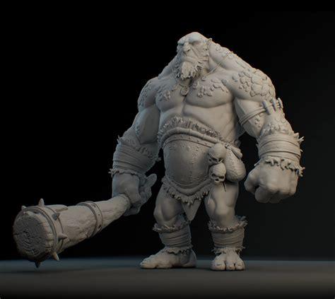 3d Troll otavio liborio cave troll