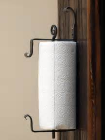 paper towel holders wall mounted wall mounted iron paper towel holder by