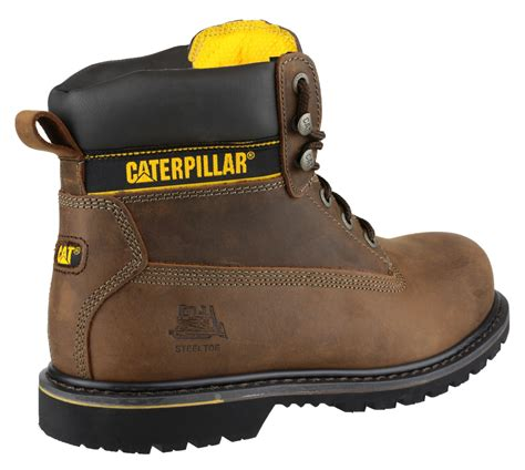 Sepatu Caterpillar Holton Steel Toe caterpillar cat holton mens safety boots steel toe cap