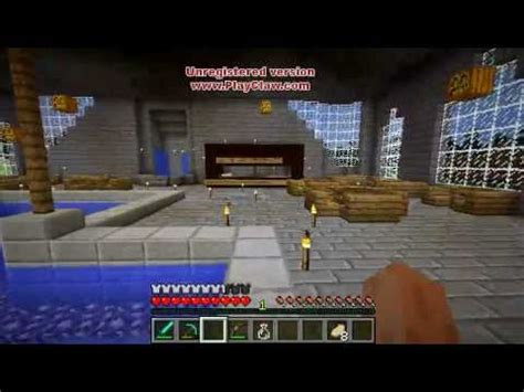 minecraft house interior ideas minecraft mansion interior furniture house ideas youtube