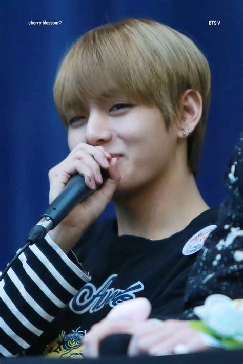kim taehyung teenager vantastic v on twitter quot hq 170224 myeongdong fansign 뷔