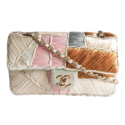 Patchwork Chanel Bag - chanel cruise 2011 patchwork raffia classic flap shoulder