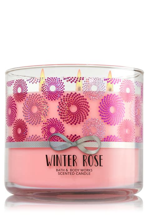 Bath Works Xoxoxo 3 Wick Scented Candle winter 3 wick candle home fragrance 1037181 bath