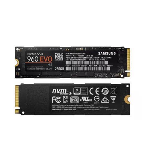 Samsung 960 Evo Nvme M 2 Ssd 250gb samsung ssd 960 evo nvme m 2 solid state drives 250gb