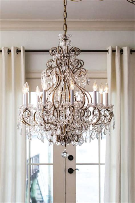 louis xvi chandelier traditional dining room