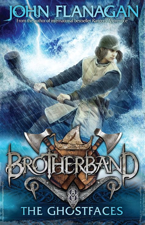the caldera the brotherband chronicles books brotherband 6 the ghostfaces penguin books new zealand