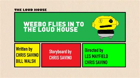 The Loud House Title Card Template by Tlh Weebo Flies In To The Loud House Title Card By