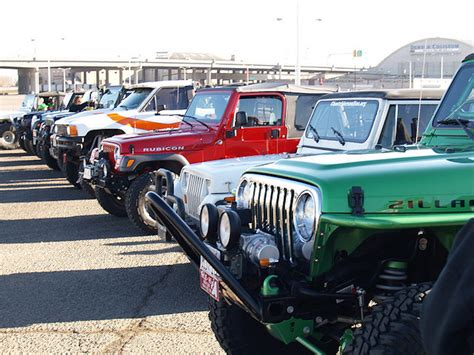 Jeep Vents Jeep Club Raises Money For Charity Through Road Trip