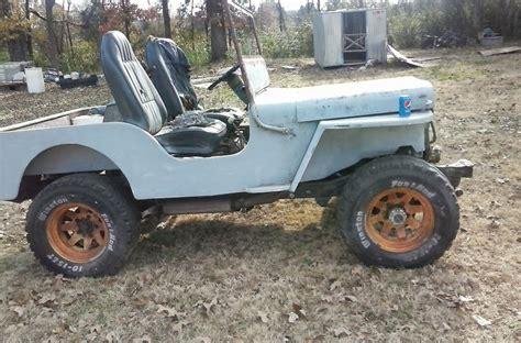 Flat Fender Jeep 1942 Flat Fender Jeep Fiberglass V8 Motor 4 Wheel