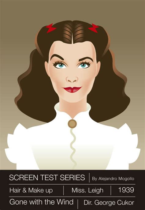 vivien leigh with the wind by alejandromogollo on