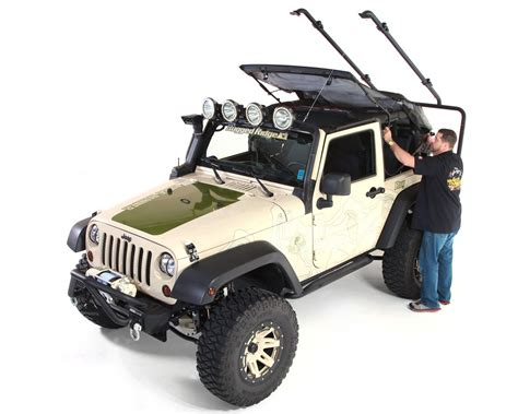 Jeep Jk Roof Rack 11703 01 Rugged Ridge Sherpa Roof Rack Jeep Wrangler Jk