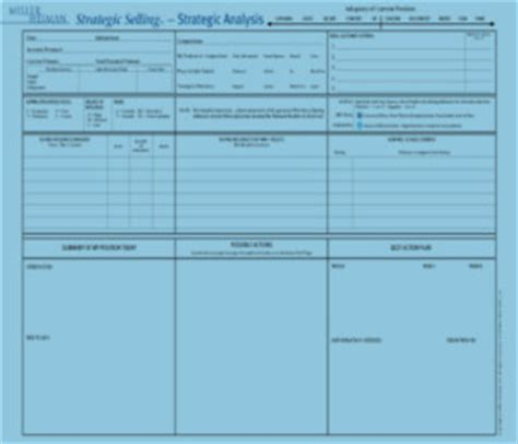blue sheet sales template sales methodology customer competence
