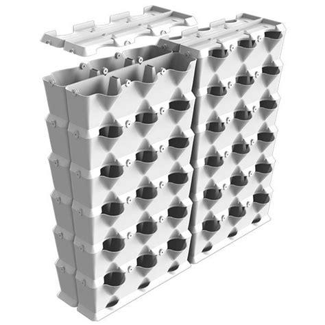 minigarden vertical vaso bianco verticale