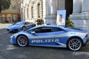 Lamborghini Huracan Polizia Lamborghini Hurac 224 N Polizia Di Stato