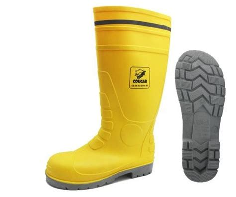 Safety Boot Petrova Yellow sepatu boot gumboot yellow 1911