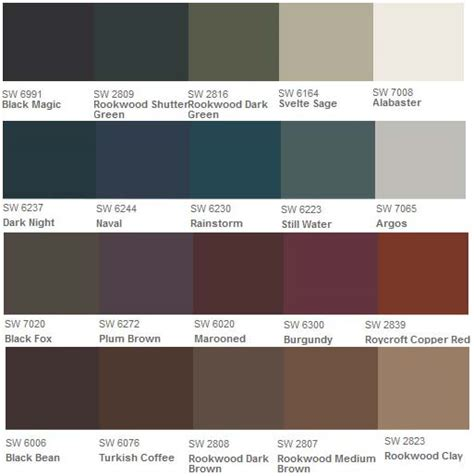 shutter paint colors shutter paint color options
