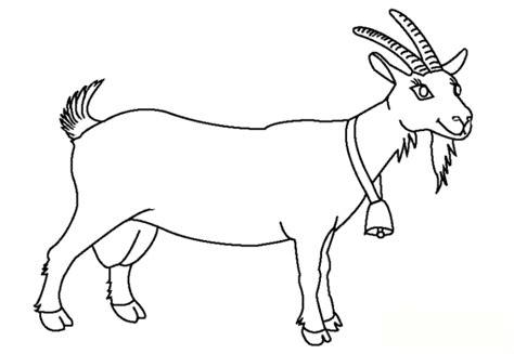 goat head coloring page sch 246 ne ausmalbilder malvorlagen ziege ausdrucken 1