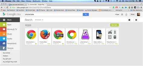 themes beta google chrome chrome beta now appears as a search result in the google
