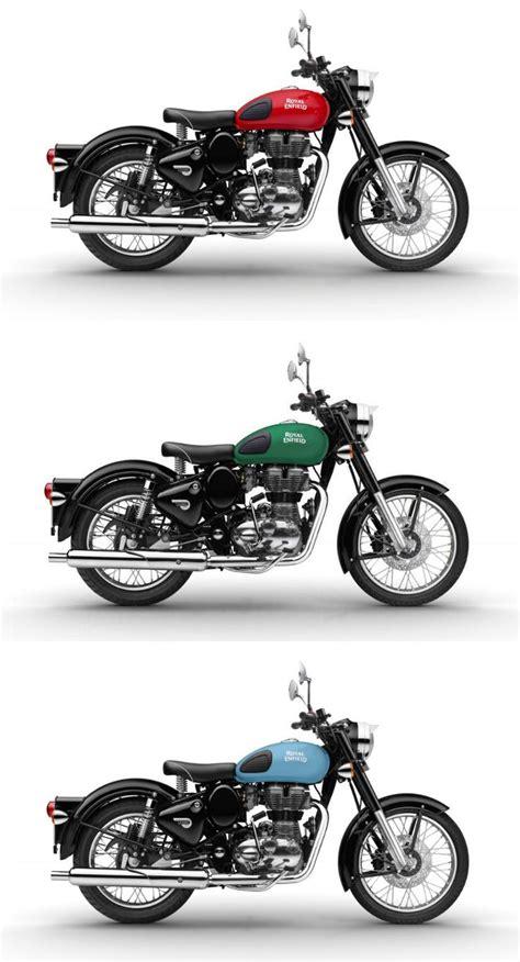 classic colours royal enfield classic 500 redditch pasi 243 n biker