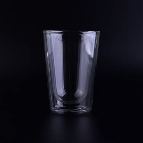 cheap glass popular style v shape clear wall glass for wholesale