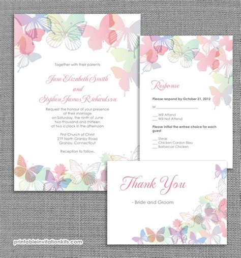 butterfly invitation template best 25 butterfly wedding invitations ideas on