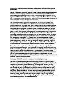 Visual Text Analysis Essay Exles by Truman Show Essay Analyse How Visual Techniques Are Used To Develop Deeper Ideas In A Visual