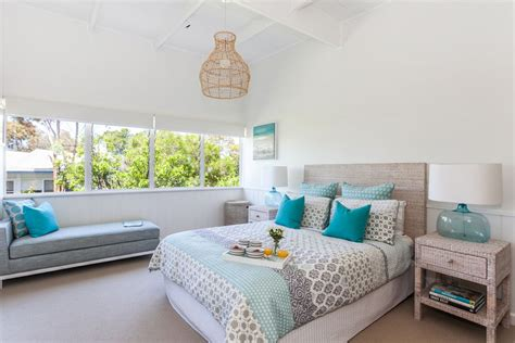 beach house bedrooms serene beach house taken over by coastal beauty