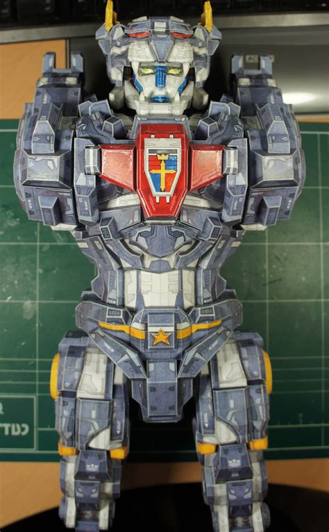 transformable voltron papermodelers