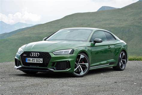 Audi Rs 5 by 2018 Audi Rs 5 Drive Review Green With
