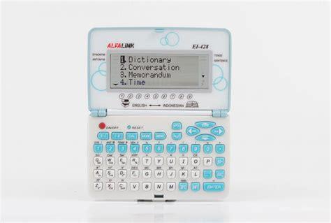 Kamus Elektronik Alfalink Ei 212 jual alfalink ei 428 jual kalkulator casio ei 428 di