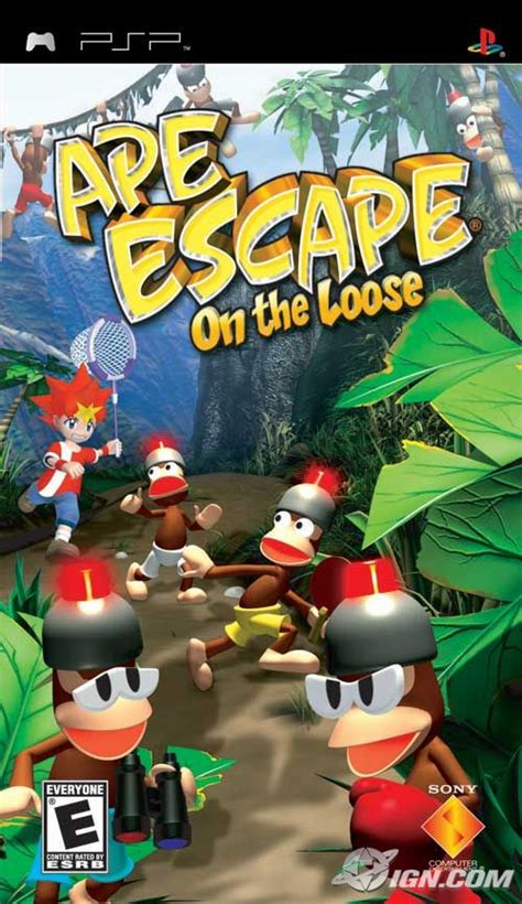 emuparadise vectrex ape escape on the loose psp game