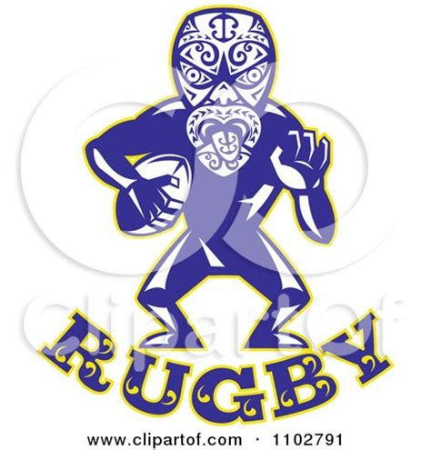 maori clipart clipart maori warrior rugby player text royalty