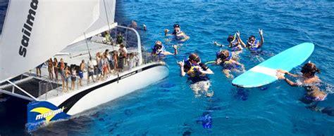 waikiki catamaran snorkeling excursion makani catamaran waikiki turtle canyon snorkel sail