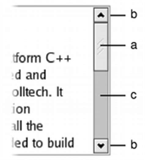 qt vertical layout scroll qscrollbar class qt widgets 5 10