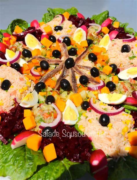 cuisine di騁騁ique facile recette de salade cuisine marocaine recette ramadan 2018