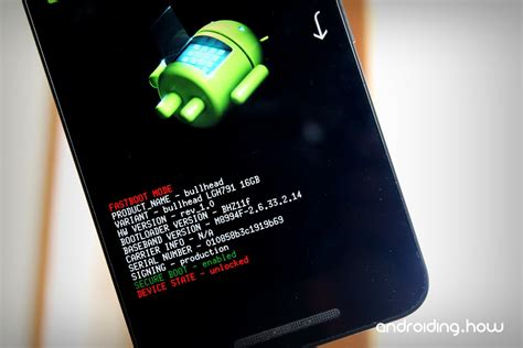 unlock android how to unlock bootloader via fastboot on android