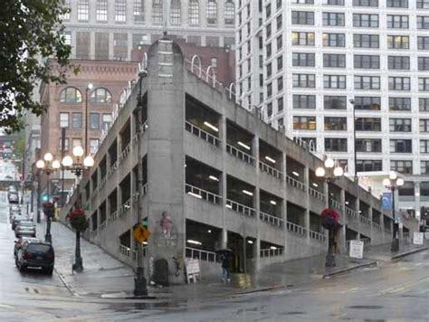 Washington Square Garage by Pioneer Square Sinking Ship Parking Garage Seattle