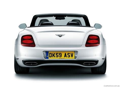bentley sports car convertible 2011 bentley continental supersports convertible photos