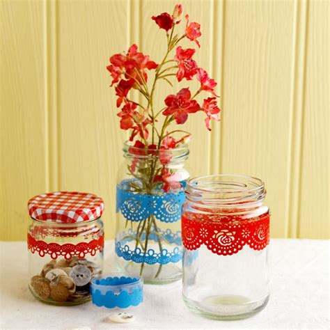 Decorating Ideas For Jelly Jars Ribbon Country Days