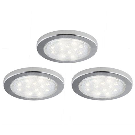 cabinet led puck lights light it white stick on light 3 pack 30010 308 the home