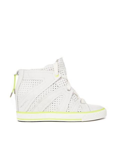 Dkny Redesigned Their Home Page by Dkny Active Dkny Active Cora Perforated Wedge Trainers