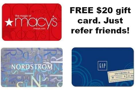Free 20 Dollar Gift Card - free 20 gift card for referring friends mamas on a dime