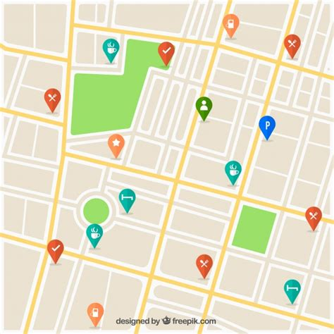 map design software free map with pins design vector free