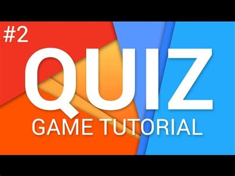 tutorial game quiz flash how to make a quiz game in unity e02 code tutorial