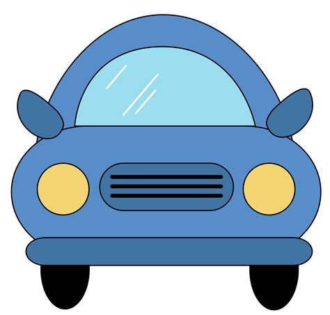 cars clip car clipart back view pencil and in color car clipart