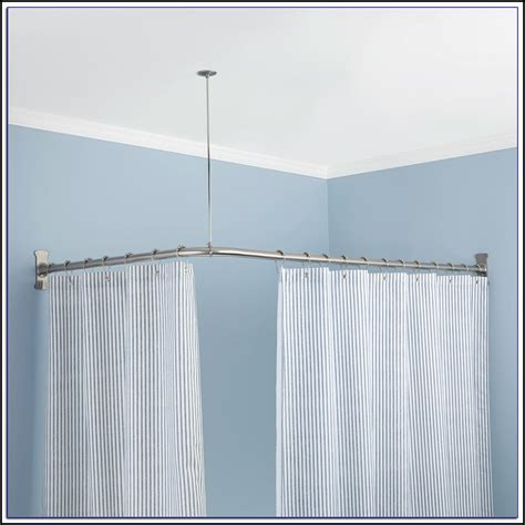 bathroom curtain rods india l shaped curtain rod india okaycreations net