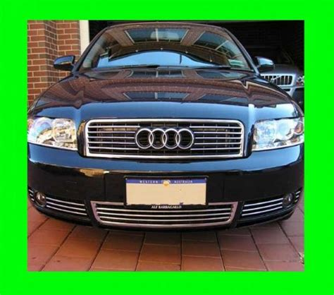 2001 audi a6 grill 1996 2005 audi a4 s4 lower chrome grill grille kit 1997